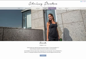 Chrissy Denton Health and Fitness Hong Kong