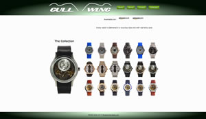 Gull Wing watches