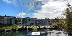 Riverside Apartment 2, accommodation in Taupo, New Zealand