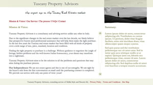 Property finders and advisors in Tuscany, Umbria, Italy